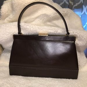 Crown Lewis Vintage boxy handbag 👜